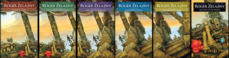 Zelazny covers 2-8